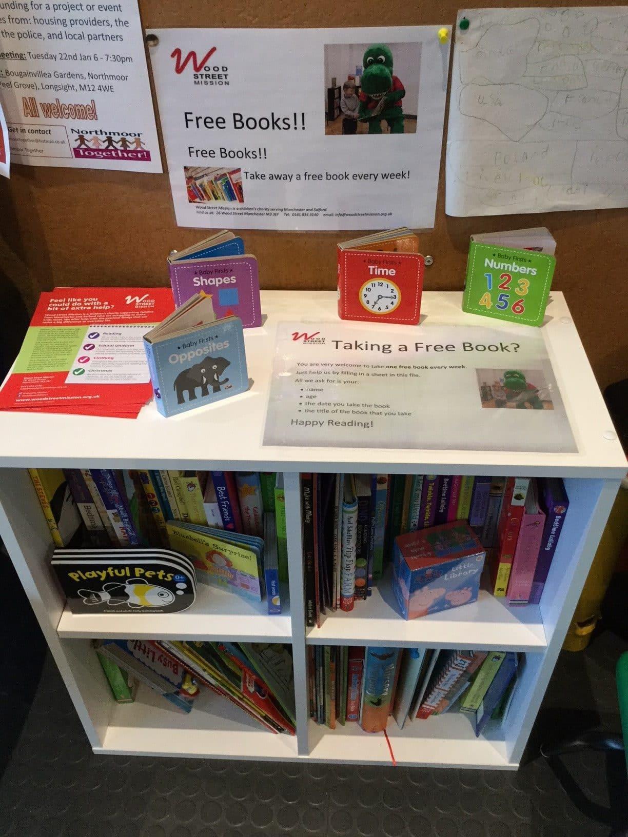 Free books for children! – Northmoor Community Association